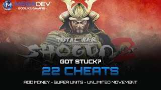 Shogun 2 – Total War Cheats: Money, Unlimited Movement, … | Trainer by MegaDev
