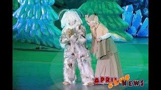 Закрытый показ новогоднего шоу «Маша и Медведь. Очень детективная история. ДА-ДА!»
