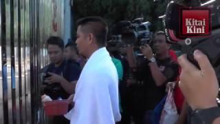 Krisis Air : Jamal Berkain Tuala di SUK Shah Alam