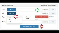 Step by Step How to Claim Your Bitcoin Cash Balance and Exchange into Bitcoins