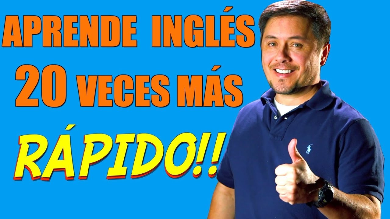 Cómo hablar inglés 20 VECES MAS RAPIDO con estos consejos!!