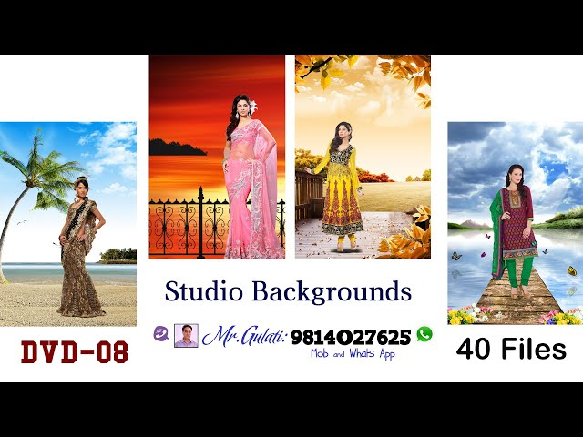 DVD -08 Studio Background