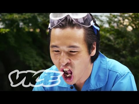 Watch This Japanese YouTube Superstar Feast on Salamanders and Hot Peppers