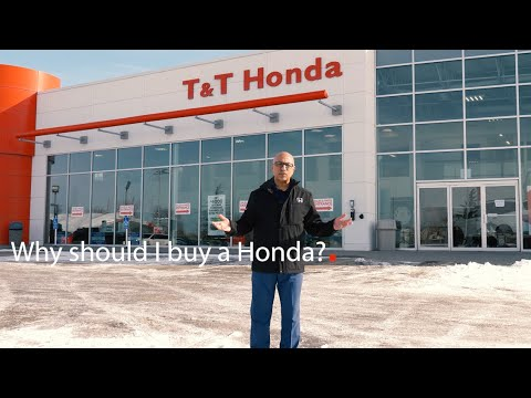 Why Should I Buy A Honda? // T&T Honda Calgary