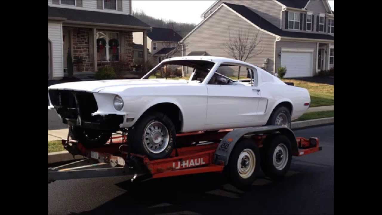1968 Mustang Coupe To Fastback Conversion Youtube