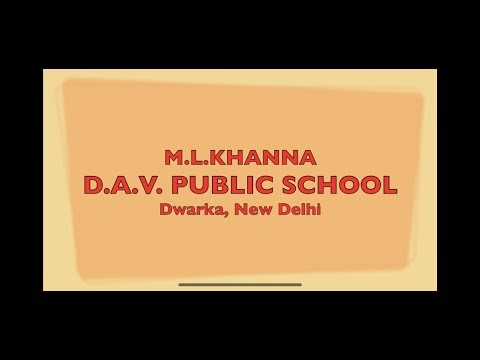 D.A.V.Public School Dwarka Sector 6  New Delhi -Graduation Day Class -4