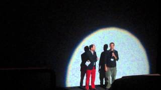 JT Petty and Colin Geddes introduce Hellbenders at TIFF