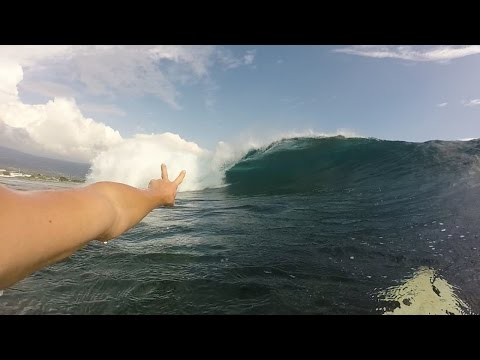Surfing with Jackson and Shane Dorian in Hawaii