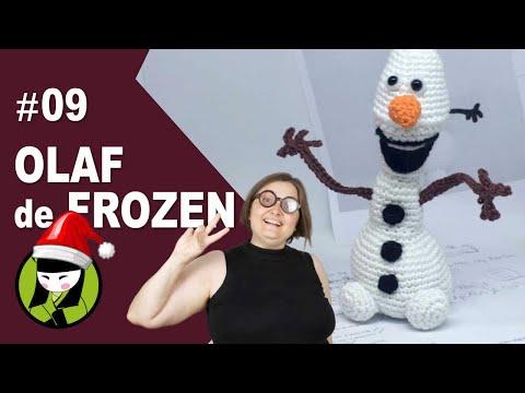 Olaf amigurumi paso a paso 9 amigurumis de frozen