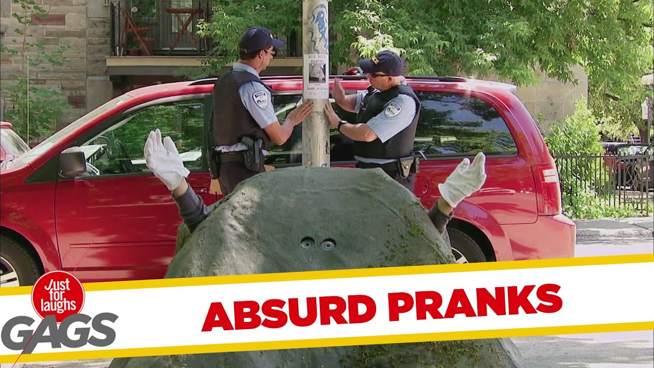 Insanely Absurd Pranks