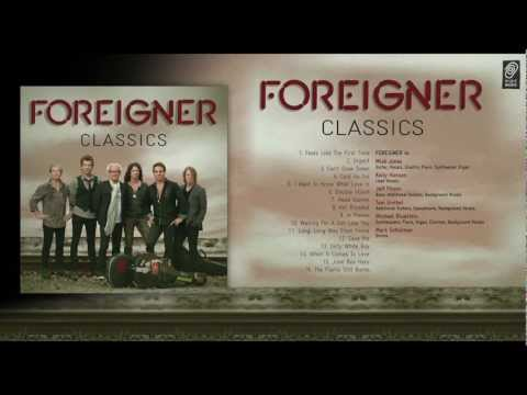 "The best of FOREIGNER - ""Foreigner Classics"" Album Medley"