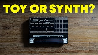 Stylophone GEN-X1 portable analog synth demo and review