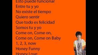 Soy Luna 2 - Honey Funny - Letra