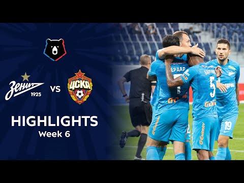 Zenit Petersburg CSKA Moscow Goals And Highlights