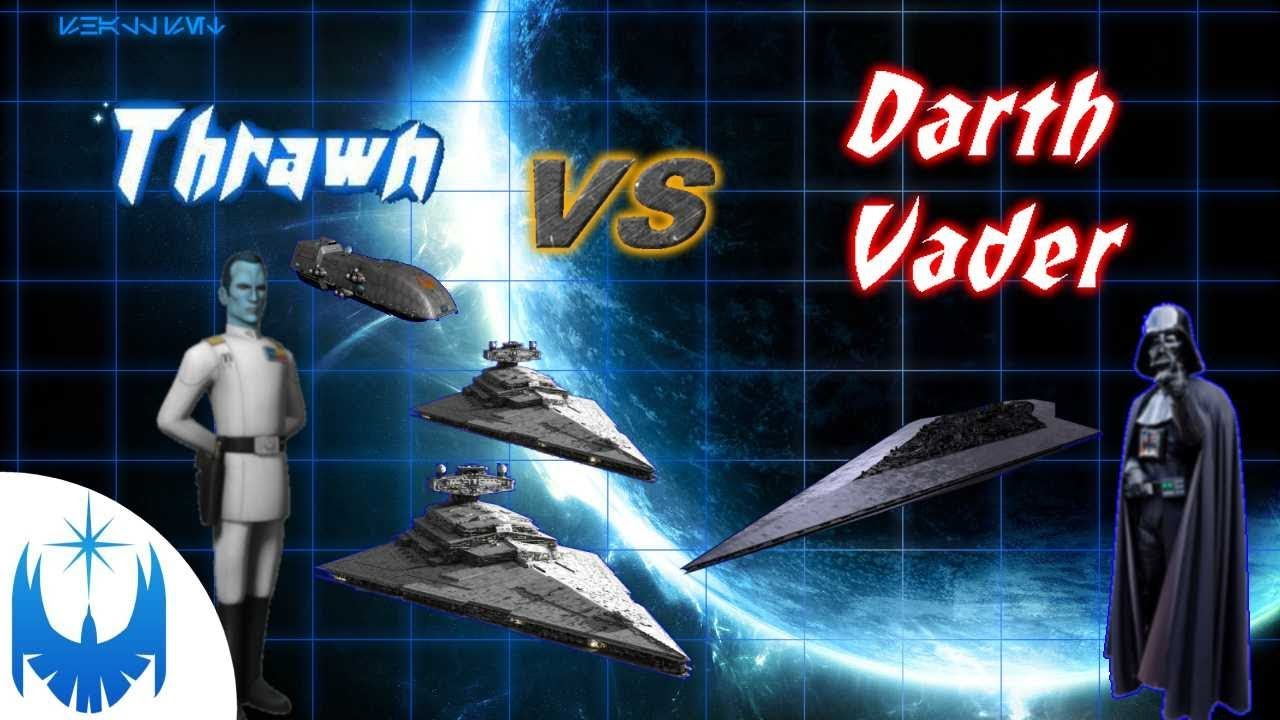Darth Vader vs Thrawn! Part 3 of Thrawn vs the Empire!