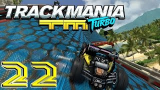 Let's Play Trackmania Turbo #22 - Voll verbogen