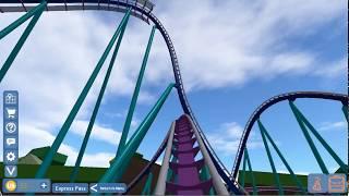 Universal Studios Roblox - Megalodon - First Row POV