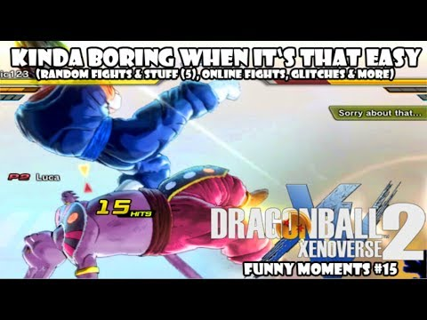 KINDA BORING WHEN IT'S THAT EASY - Dragon Ball Xenoverse 2 Funny Moments #15