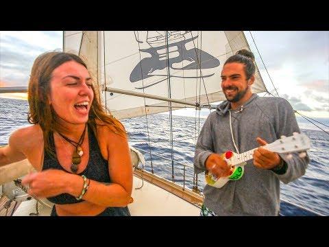 Sailing to a remote South Atlantic Island! St. Helena!! Sailing Vessel Delos Ep.152