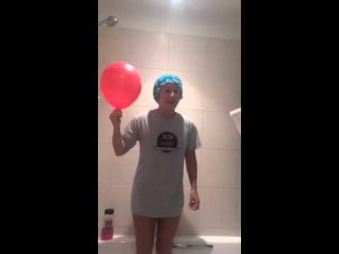 Hayley Tamaddon Ice Bucket Challenge