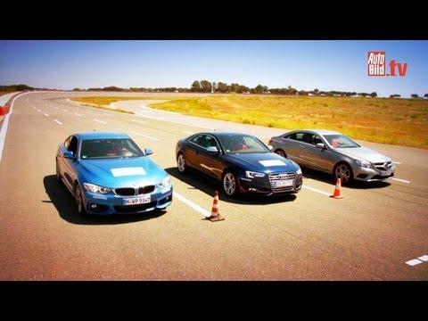 BMW 435i vs. Audi S5 und E Coupé - Kampf der Sport-Coupés