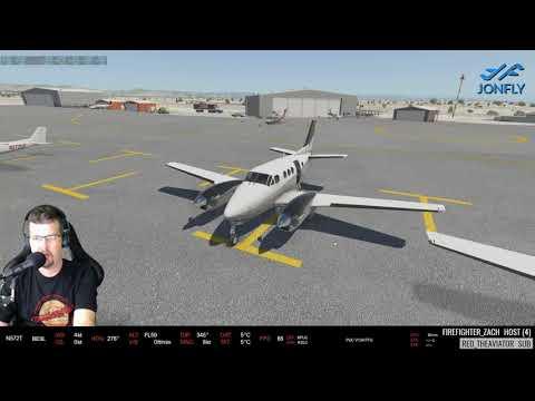 Carenado C90 King Air XP11 KPUC to KSLC  X-plane 11