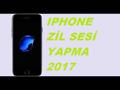 iphone Zil Sesi Yapma 2017 (Zil Sesi indirme ve Melodi Yapma)
