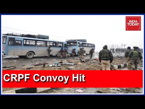CRPF Convoy Attacked With IED Blast & Firing On Srinagar-Jammu Highway