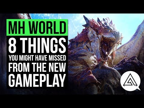 Monster Hunter World   8 Things You Might Have Missed From The New Gameplay