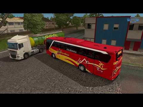 ETS2 - Sugeng Rahayu Jam Mepet Kejar setoran W 7120 UZ #2