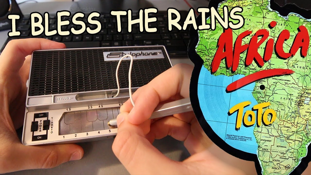 Toto - Africa played on a Stylophone