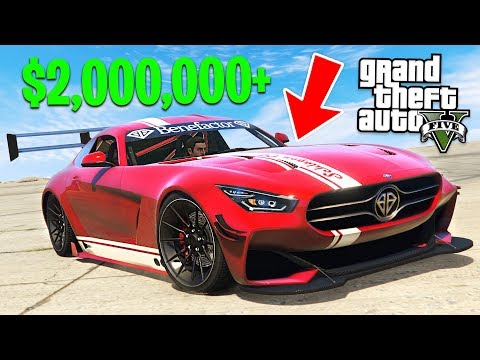 GTA 5 *NEW* Mercedes AMG GT Schlagen GT $2,000,000+ Spending Spree! (GTA 5 Online DLC Update)
