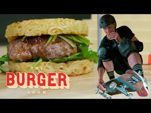 Digital Riggs - Tony Hawk Skates and Grubs on Iconic Burgers