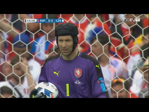 Petr Cech vs Spain - Euro 2016 (13.06.2016) HD 720p