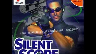 Silent Scope. 1 credit playthrough (level 8)