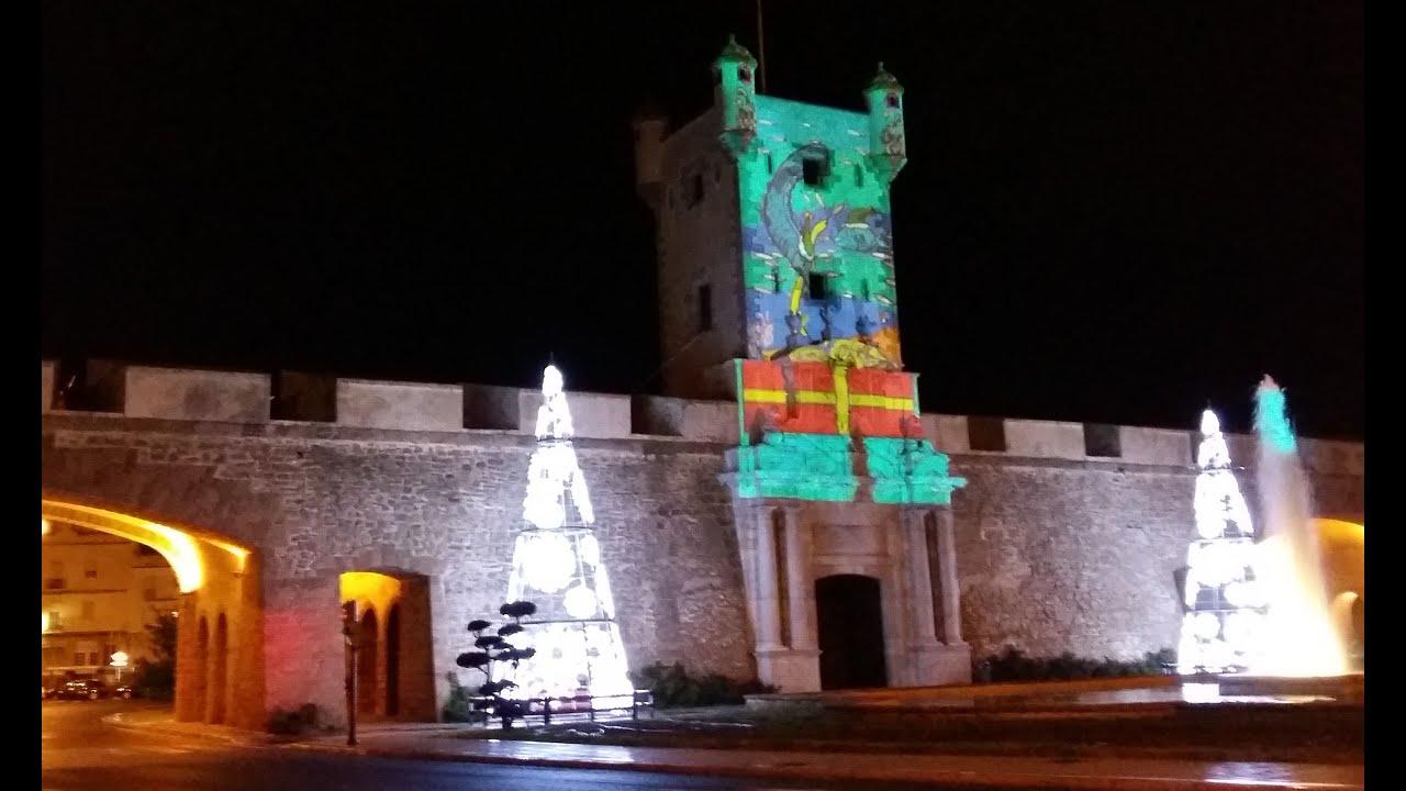 Mapping navide o torreon puertas de tierras video - Iluminacion de navidad ...