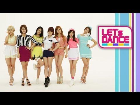 Let's Dance: AOA(에이오에이) _ Short Hair(단발머리) [ENG/JPN/CHN SUB]