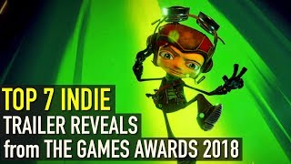 The Game Awards 2018 | Top 7 Indie Trailer Reveals