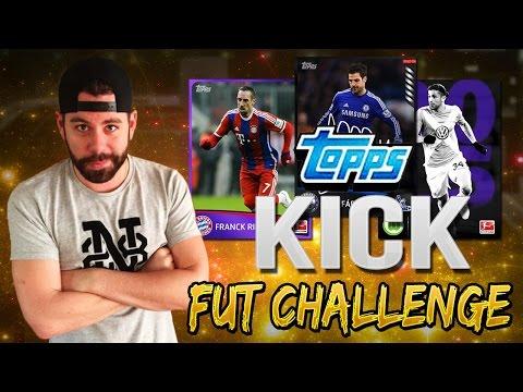 Topps KICK FUT Challenge - Bundesliga Squad Builder - App Tutorial - FIFA 15 Ultimate Team