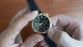 Обзор и настройка. Механичкеские часы Forsining GMT. Стильные мужские часы