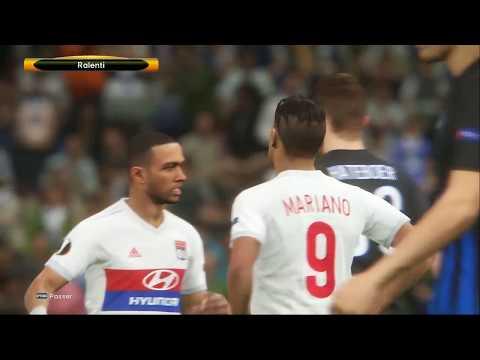 Lyon - Atalanta [PES 2018] | UEFA Europa League 2017-2018 (Groupe E - Jour 2) | IA Vs. IA