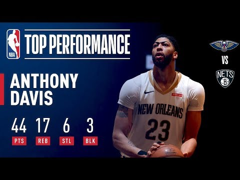 Anthony Davis STEALS The Show In Double Overtime Action At Barclays