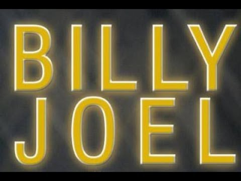 Billy Joel - Piano Man (Lyrics on screen)