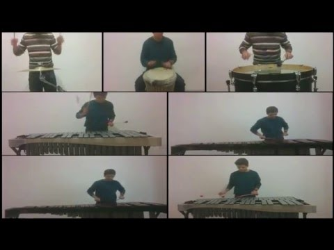 Game Of Thrones Opening - Percussion Ensemble