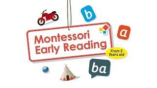 Montessori Early Reading - Phonics & rhyme games