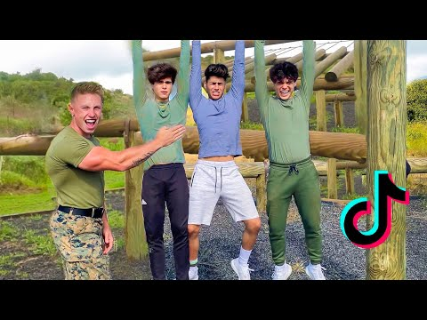 TikTokers vs Military Obstacle Course!