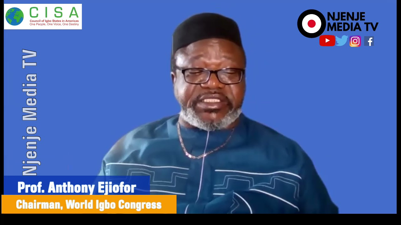 Prof. Anthony Ejiofor's Goodwill Message To The Reconnected Igbo African-American Descendants