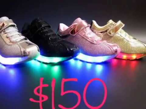 2a1c59483677 Light Up Shoes Commercial - YouTube