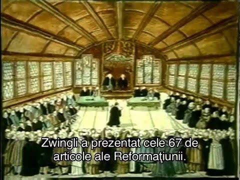 Reforma protestantă (Ulrich Zwingli şi Jean Calvin)