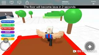 LAVA IS THE FLOOR? Roblox The Floor Is Lava